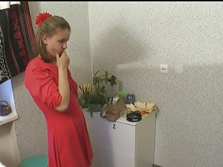 Russian Olya Fucks 4 Men