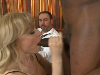 Nina Hartley let hubbie watch