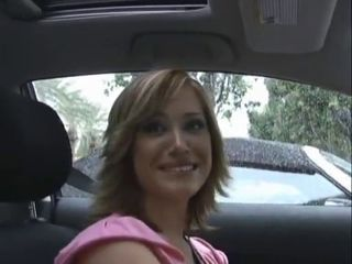 Amateur Car Hairy MILF Pornstar