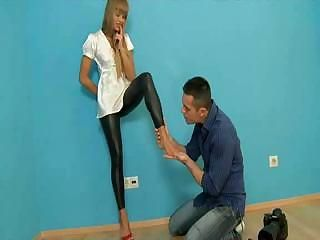 Amazing Anal Feet Fetish Latex Pornstar Teen