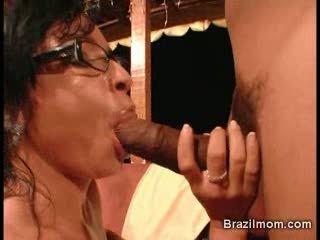 Brazilian mom indiscretion fucked