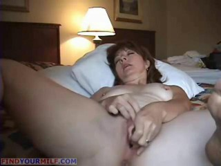 Sex-crazed matured wife anal masturbating