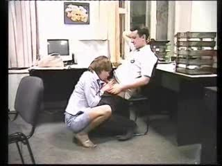 russian office slut fucking