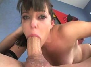 Bobbi Starr gets a big cock down her throat DTD