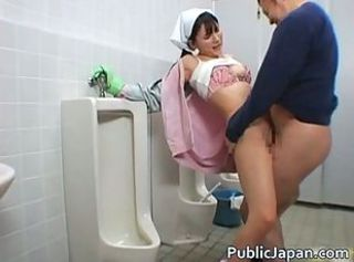 Asian girls having sex prevalent make an issue of shower video _: shower hardcore voyeur blowjob interracial asian public