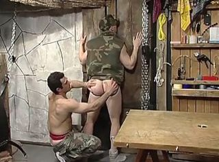 Military Guy and a Mate