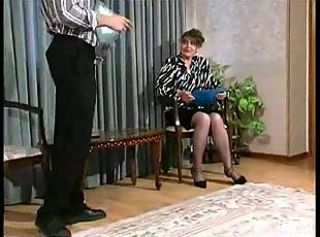 Russian Mature Rebecca wits snahbrandy