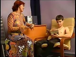 Mature Mom Fucks Boy
