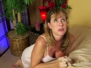 Big Tits Blonde MILF Mom