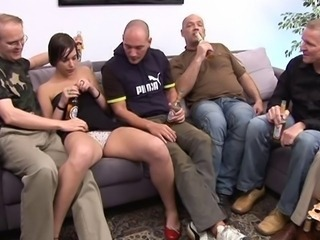 EuroBitch A23 German gangbang Silvia Rubi coddle latin DPP