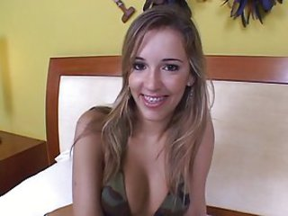 Brazilian teen Giselle - Latina sex video -