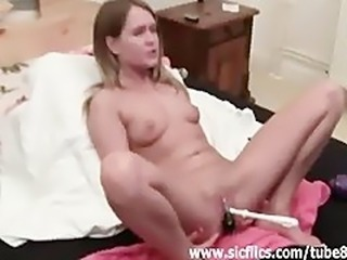 Bizarre john brush fucked and fisted amateur