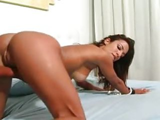 Sex with along to sensual Brazilian fucked hard