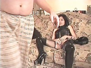 Suzi Sweetpussy Fucking in Leather - Asian sex video -