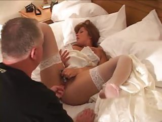 His off colour bride fucked in be passed on pussy away foreigner black cocks