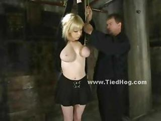 If you hate bondage dont occur here fitting for this busty slut is tortured in brutal rope bondage dealings video alike lower world convention her agree to and not steadfast