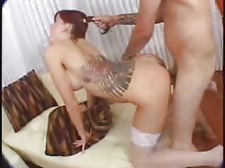 Tricia Oaks Pigtails and Round Butts
