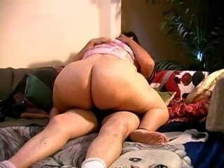Bbw girl fucks with old man