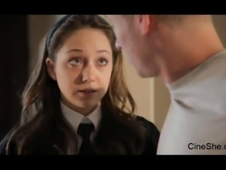 Remy LaCroix - School Girl Gives The brush Ass