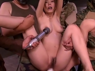 Four japan girl hard banged