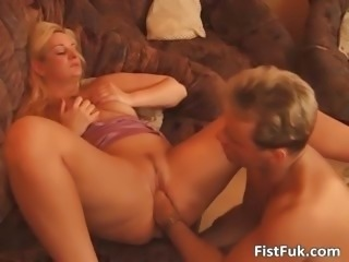 Blonde chubby lsut getting fucked hardly part2