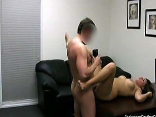 Caught on the backroom casting couch