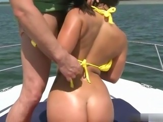 Liza Assfucked on Boat S88