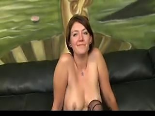 Rough and messy throat fuck with slut