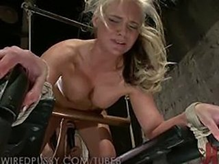 Phoenix Marie gets her ass Fisted in Bondage