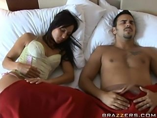 Cute desperate wife cheats her husband
