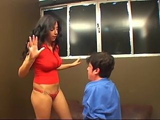Young & Angry Mistress Bitch Slaps her Personal Slave