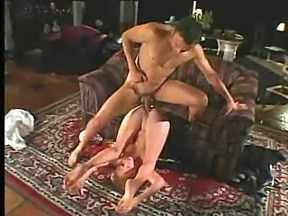 Horny redhead one of a pair Audrey gets fucked hard