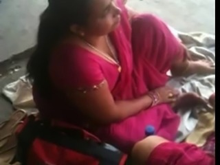 Busty Indian MILF on a Accustom Station 2 (o) (o)
