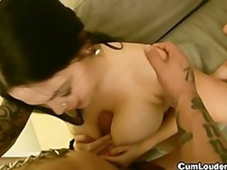 Shione Cooper huge boobs, incredible slut