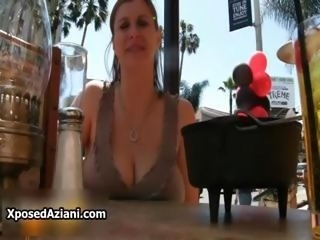 Big natural chest babe Sara Stone showing part6
