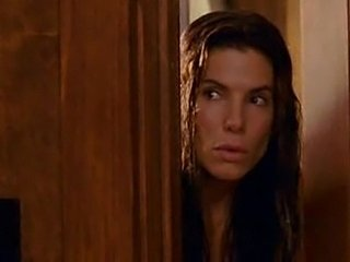 Naked Sandra Bullock goes out of shower & falls