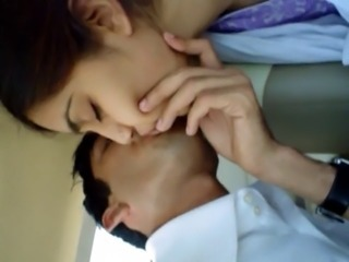Cute Girlfriend Indian Kissing