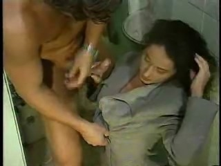 erika anal in the bathroom