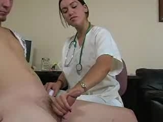 Doctor Handjob MILF Nurse Uniform
