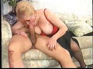 granny with glasses - Mature sex video -