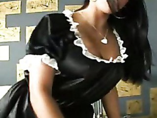A decision to help horny maid with her fantasy