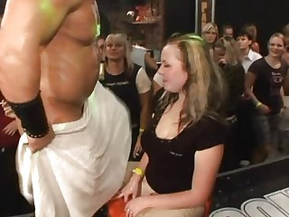drunk girls fucking strippers