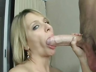 big cock vs blond slut - Hardcore sex video -