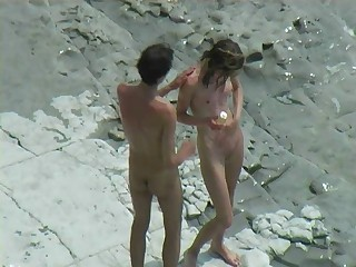 voyeur - sex on the beach - Hardcore sex video -