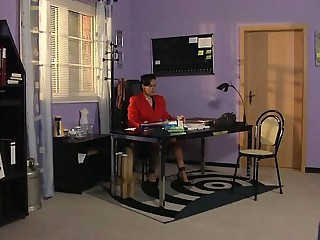 Frau Schneider - German Mature Boss