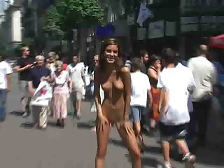 nella nude in public longer version