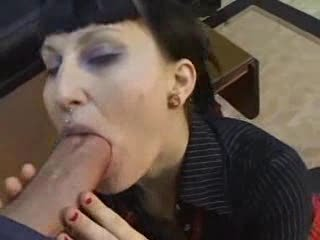 Goth Punk Tolerant Gets Banged My Huge Cock