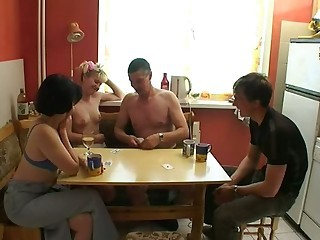 Russian swingers - Mature sex video -