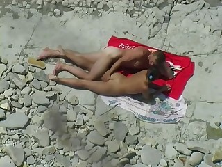 voyeur - beach intercourse - Hardcore intercourse video -
