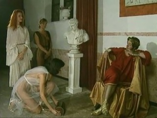 Orgy in Roman superciliousness